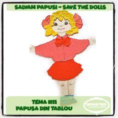 "Provocari Verzi - Metamorfoza unui fluture -: Salvam Papusi // Save the Dolls ""Papusa din Tablou"" Family Guy, Challenges, Dolls, Blog, Fictional Characters, Art, The Originals, Baby Dolls, Art Background"