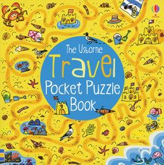 This book can be used time and time again. This is a great way to pass time AND build critical thinking skills. Travel Pocket Puzzle Book from Usborne Books & Travel Activities, Travel Themes, Book Activities, Activity Books, Road Trip With Kids, Travel With Kids, Logic Problems, Paper Games, Stem For Kids