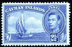 King George VI Cayman Islands 1938