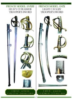 Full colour price guide for collectors of antique cavalry swords by Harvey J S Withers. © 2016 antiqueswordsonline.com