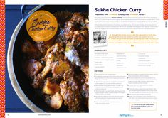 Sukha Chicken Curry from Monica Sawheny   http://spicediary.com/