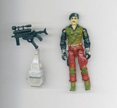 Hasbro 1986 G.I.JOE ARAH Special Ops BRAZIL DIAL TONE Figure & Accy FSH US