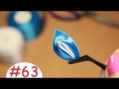Двойной вывернутый лепесток Канзаши / Все лепестки Канзаши #63 - YouTube