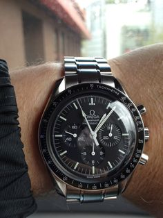 "Omega Speedmaster Professional ""Moon Edition."" New favorite."