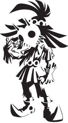 Legend of Zelda Skull Kid Wall Vinyl Decal Home Decor // pumpkin idea Sheikah Zelda, Stencil Art, Stencils, Legend Of Zelda Tattoos, Hanya Tattoo, Gaming Tattoo, Video Game Art, Animes Wallpapers, Oeuvre D'art