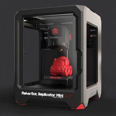 Replicator Mini 3D Printer by MakerBot - $1375