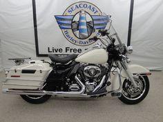 2010 Harley-Davidson® FLHP Road King Police Stock: NE2053 | Seacoast Harley-Davidson®