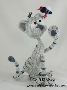 Cat – Amigurumi Crochet Pattern