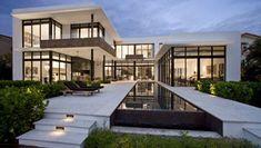 Сказочная резиденция на берегу океана в Майами-Дейд