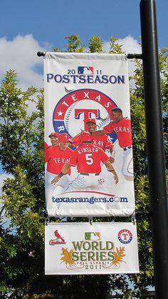 Texas Rangers Banner