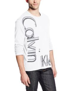 Calvin Klein Jeans Men's Long Sleeve Crew Knit Top, White, Small Calvin Klein Jeans,http://www.amazon.com/dp/B00GTDGL9G/ref=cm_sw_r_pi_dp_5bVptb08D31TNTQQ
