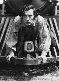 Buster Keaton in The General, 1926.