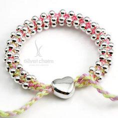 2012 New Arrival simple silver heart friendship bracelets make Women Woven handmade Bracelets  LHA07-10 on AliExpress.com. $58.79