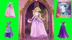 Disney Rapunzel Princess Dress Up Magnetic Activity Fun Ty Sketch Set Disney Princess Dress Up, Disney Rapunzel, Princess Videos, Tiana, Aurora Sleeping Beauty, Sketch, Activities, Disney Characters, Fun