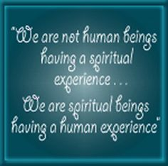 spiritual NOT religous