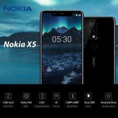 Nokia X5 4G Smartphone 5.86 Inch 3GB RAM 32GB ROM - US$151.99 Sales Online blue 32gb - Tomtop Smartwatch, Apple Technology, Congo Kinshasa, Dual Sim, Smartphone, Blue, Smart Watch