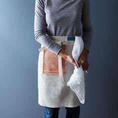 Handwoven Half-Boxy Apron on Food52
