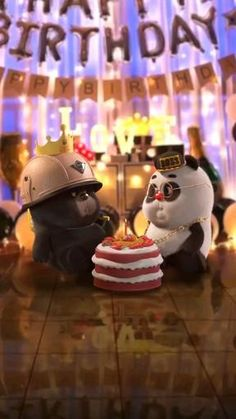 Funny Minion Videos, Cute Funny Baby Videos, Cute Funny Babies, Funny Videos For Kids, Happy Birthday Song Video, Love Birthday Quotes, Funny Animated Cartoon, Cute Funny Cartoons, Panda Funny
