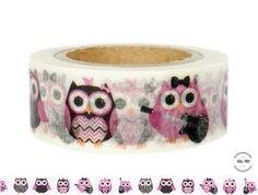 Masking Tape - Washi Tape EULEN - ein Designerstück von Fitzi-Floet bei DaWanda