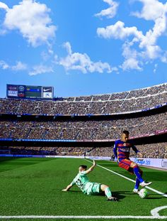 Neymar at the Camp Nou