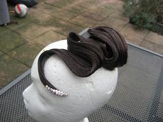 Ballroom dancesport hair - latin hairdo by dancinghair