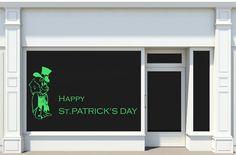 Sticker Saint-Patrick - Irish Man  - Sticker adhésif découpé, sans fond
