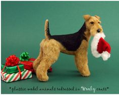 How to put fur on plastic models...really cool. flocking?