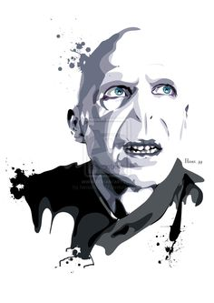Lord Voldemort by on DeviantArt Magia Harry Potter, Slytherin Harry Potter, Harry Potter Facts, Harry Potter Characters, Harry Potter World, Hogwarts, Harry Potter Painting, Harry Potter Artwork, Harry Potter Drawings