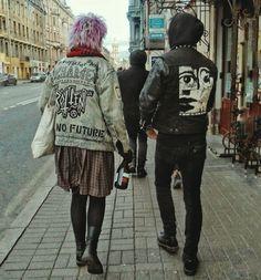 Punk Jackets, Alter, Goth, Fashion, Gothic, Moda, Fashion Styles, Goth Subculture, Fashion Illustrations