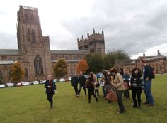 Exploring Durham's World Heritage Site with Rebecca from Purcell