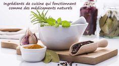 17 Ingrédients de cuisine qui fonctionnent comme des médicaments naturels