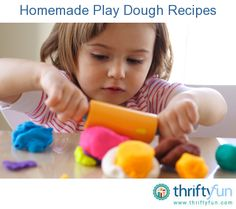 This guide is about homemade play dough. It is easy to make and many fun things can be made with this medium.