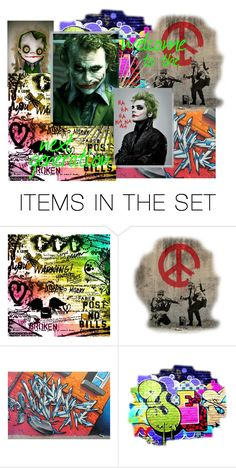"""""""DC Academy Shoutout I"""" by xellace ❤ liked on Polyvore featuring art"""