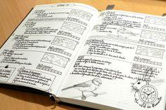 Bullet Journal brouillon