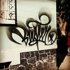 flare mastery by the one and only Buster (@busterduque). #buster #graffiti #handstyle
