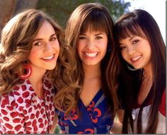 with fellow camp rock castmates