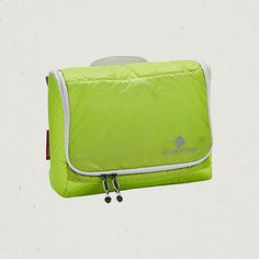 An ultra lightweight toiletry kit with multiple organizer pockets and a swivel hook for easy hanging and access. Made in durable, translucent, silnylon ripstop. // toiletary bag