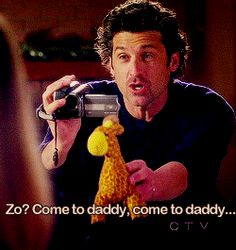 Derek and Zola Greys Anatomy Season 8, Grays Anatomy Tv, Grey's Anatomy, First Boyfriend, Dark And Twisty, Dance It Out, Youre My Person, Meredith Grey, One Night Stands
