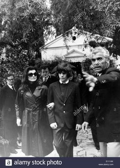 EVGENIA GL Jackie Kennedy at Aristotle Onassis funeral Stock Photo