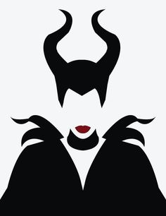 maleficent stencil - Pesquisa Google