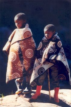 Lesotho Herd Boys BelAfrique - Your Personal Travel Planner www.belafrique.co.za