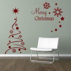Christmas Vinyl Wall Art Lizardmediaco - Custom vinyl wall decals christmas