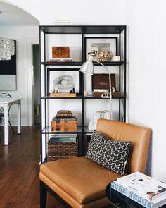 Ikea vittsjo | shelf styling {Amanda | Our Southern Story}