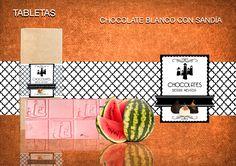 Te presentamos una tableta muy fresca, de sabor exótico y dulce. Lo mejor del chocolate belga unido al frescor y sabor de la sandía. Mínimo cacao 29% Sin gluten. www.chocolatesierranevada.com