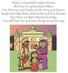 Aisha the Indian Princess. Interview with the author- cute multicultural book.
