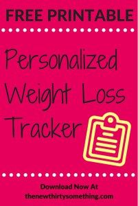 Free Weight Loss Tracker