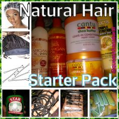 Natural hair Starter Pack