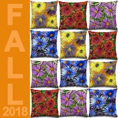 A warmer palette for the cosy season ahead. Art Desk, Silk Scarves, Surface Design, Interior Decorating, My Arts, Presents, Cozy, Throw Pillows, Seasons