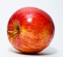 Apple - Study finds that an apple a day can keep cancer away.  http://washington.cbslocal.com/2012/10/13/study-finds-that-an-apple-a-day-keeps-cancer-away/