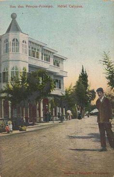 Büyükada (Stavros Drimikis) #İstanbul #Vintage #OldPhotos #Postcards #eskifotoğraflar #kartpostal